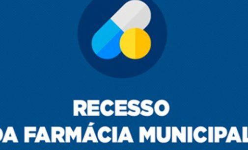 Recesso da Farmácia do SUS de União da Vitória