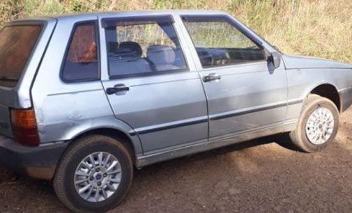 Veículo Fiat Uno é furtado em General Carneiro