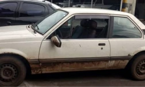 Veículo furtado no centro de União da Vitória é recuperado