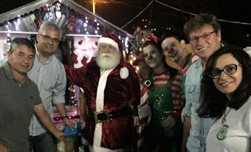 O clima de Natal contagia General Carneiro