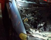 Incêndio destrói parcialmente veículo em Porto União