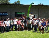 Comunidade de Salto Bonito em Bituruna, recebe implementos agrícolas