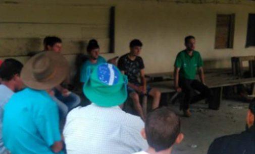 Reunião no Pinhalão tratou da manutenção do poço artesiano