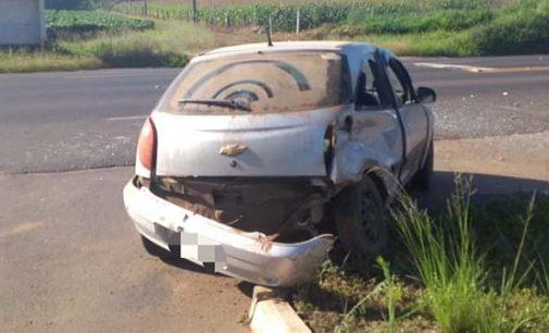 Acidente na BR 280 deixa dois feridos em Irineópolis