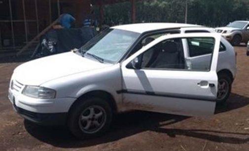 Polícia Militar de Porto União recupera veículo furtado em Blumenau