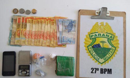 Casal é preso por tráfico de drogas no bairro São Braz
