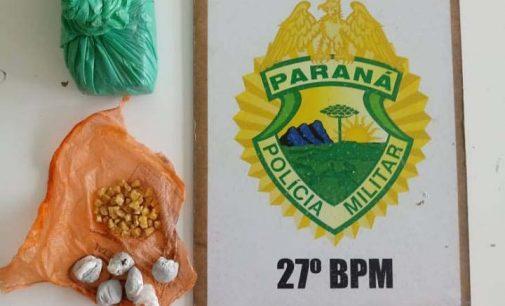 Casal é preso por tráfico de drogas no bairro São Basílio Magno