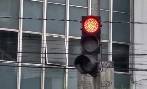 Falta manutenção nos semáforos de União da Vitória