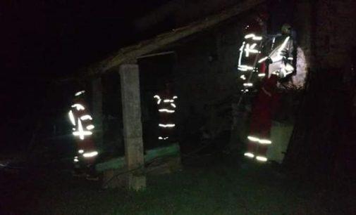 Incêndio destrói estufa de fumo em Paula Freitas