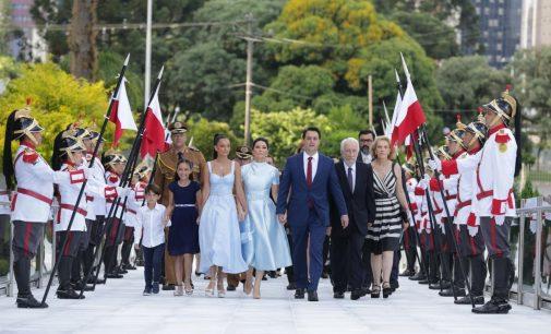 Ratinho Júnior toma posse como Governador do Paraná