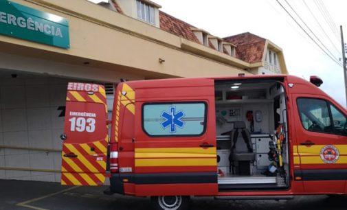 Policial fica ferido, após disparo acidental no interior de Porto União