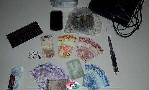 Traficante é preso no bairro Santa Rosa em Porto União