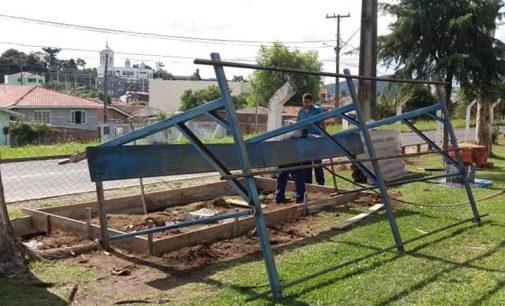 DME realiza Revitalização do Campo do Escurinho em Porto União