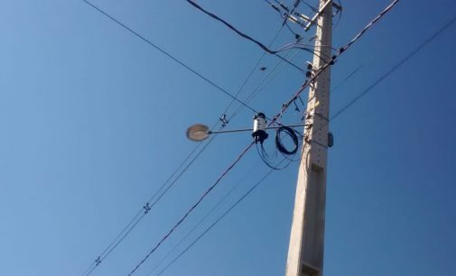 Vândalos depredam parque de iluminação em União da Vitória