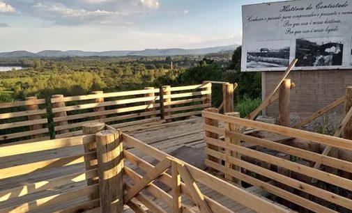 Obras no Mirante Arno Dickel estão sendo finalizadas