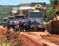 Estrada de Santa Cruz do Timbó recebe melhorias