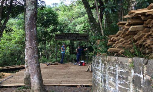 Parque João Maria em Porto União passa por reformas