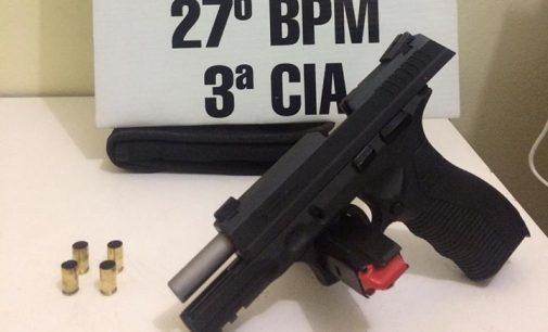 Três pessoas são presas por disparos de arma de fogo