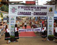 5° Desafio Rota do Vinho reuniu 800 corredores em Bituruna