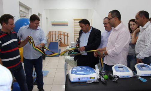 Hospital de Bituruna recebe R$ 40 mil em equipamentos para fisioterapia