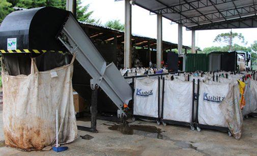 Reciclinho em Bituruna ganha barracão e equipamentos novos