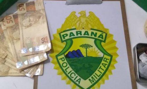 Policiais de União da Vitória apreendem maconha e crack