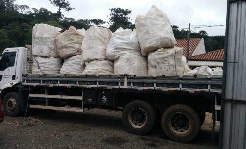 É realizado em Cruz Machado o recolhimento de embalagem de agrotóxico