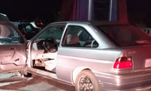 Policiais de UVA atendem acidente de trânsito na Ponte dos Arcos