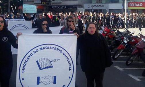 Professores do magistério de União da Vitória declaram greve