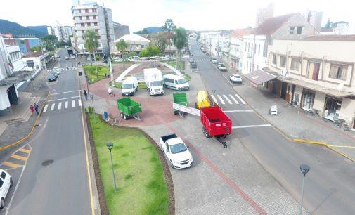 Porto União recebe novos maquinários e equipamentos