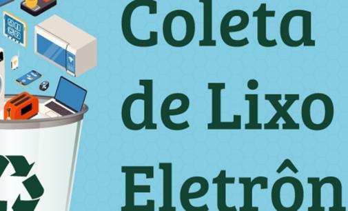 Dia 30 em Bituruna, acontece o Dia D de coleta de lixo eletrônico