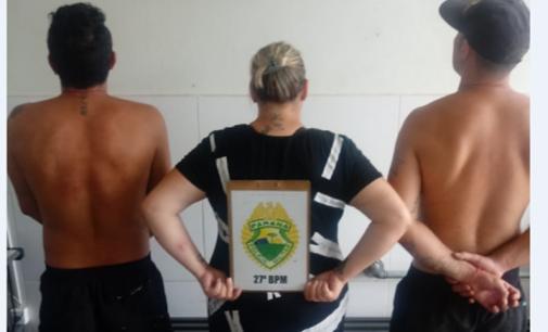 Três pessoas são presas por tentativa de furto a ótica de Cruz Machado