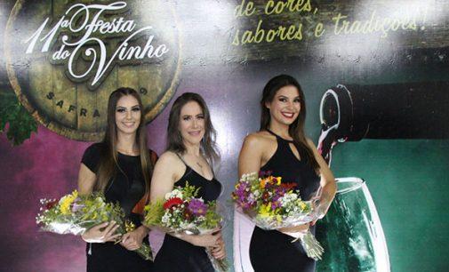 11ª Festa do Vinho já tem Rainha, 1ª e 2ª Princesa