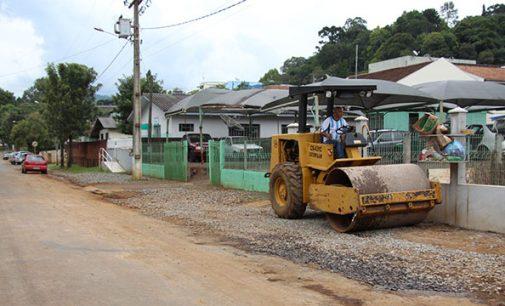 Setor Urbano promove melhorias em Bituruna