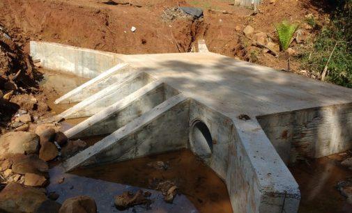 Mais três novas pontes estão sendo finalizadas em Bituruna