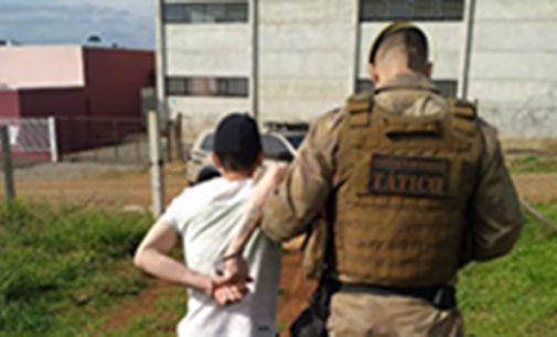 Fugitivo da 4ª SDP é preso em Irineópolis