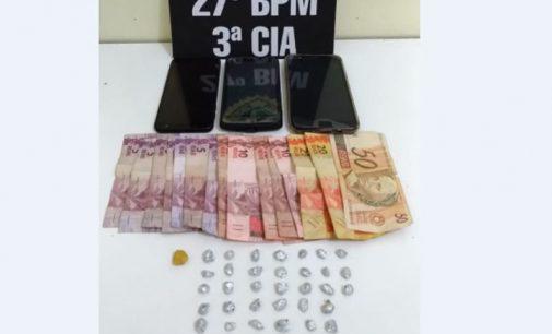 Irmãos são presos por tráfico de drogas em São Mateus do Sul
