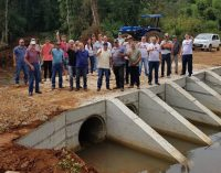Ponte da Comunidade do Rosário é entregue para a população