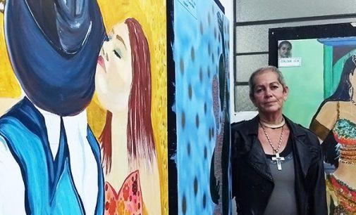 Professora Nadia Ayub abre exposição em União da Vitória