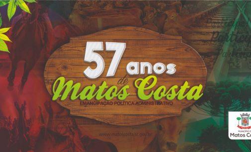 Matos Costa completa 57 anos de desenvolvimento