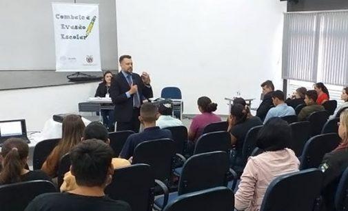 Cejusc realiza primeira audiência contra Evasão Escolar