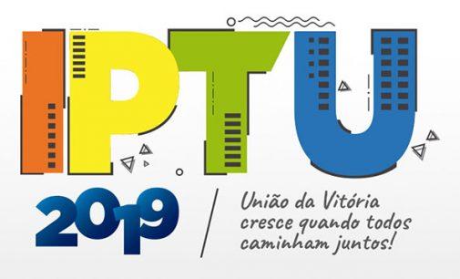 IPTU de União da Vitória vence dia 15 de abril