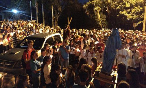 Paróquias de Porto União lembram a morte de Jesus Cristo