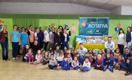 Escolas de União da Vitória recebem Compra Rotativa