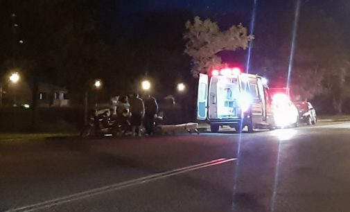 Gestante sofre acidente de trânsito no distrito de São Cristóvão