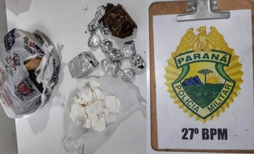 Pai é preso e filha adolescente é apreendida por tráfico de drogas em UVA
