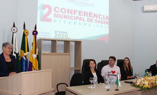 Biturunenses acompanham a 12ª Conferência Municipal de Saúde