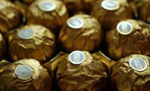 Indivíduo é preso por furto de chocolates Ferrero Rocher