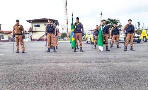 27º BPM de União da Vitória celebra patrono Tiradentes