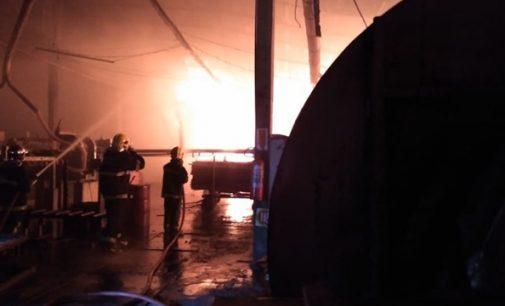 Incêndio na Empresa Santa Catarina: Prejuízo passa de 1 milhão de reais